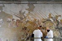"""Реставрират с """"добавена реалност"""" уникална мозайка в Неапол (Снимки)"""