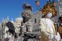 Пандемията промени всичко: Венеция без туристи и карнавал онлайн (Снимки)