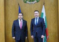 Гръцкият министър Панайотис Митаракис се срещна с министър Терзийски