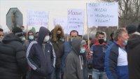 Жители на село Драганово излязоха на протест заради безводието