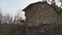 Четвърта година свлачище руши къщи в русенското село Пиргово