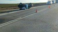 Двама мъже загинаха при челен удар на пътя Русе – Бяла