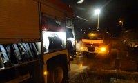 Голям пожар в пловдивското село Труд