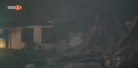 Няма пострадали след големия пожар в пловдивското село Труд