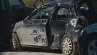 В Панагюрище 17-годишен без книжка обърна кола, приятелят му загина (Обзор)