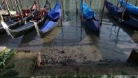 Пресъхнаха каналите във Венеция