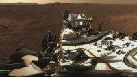 Първа панорамна снимка: Марс в 360 градуса