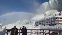 Удивителни кадри от Ниагарския водопад