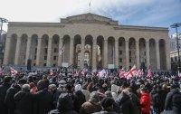 Протести в Тбилиси в подкрепа на депутат