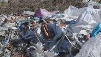 Тонове отпадъци се изсипват на нерегламентирано сметище във Варна