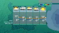 Застудяване на времето се очаква в края на деня
