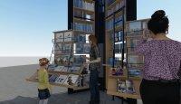 """Връщат книжния пазар на площад """"Славейков"""". Вижте как ще изглежда (ВИДЕО)"""