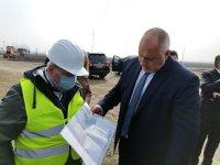Борисов се увери в напредъка на строителството на пътя Видин-Монтана