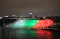 Исторически момент: Ниагарският водопад светна в цветовете на българския флаг