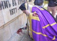 снимка 7 Поклонение пред Докторския паметник за загиналите медици в Руско-турската освободителна война