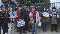 снимка 2 Медицински сестри и санитари от Варна с флашмоб в подкрепа на протеста в София