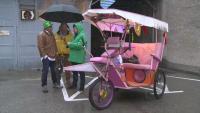 Разходка с рикша в Русе: Историята на един пътешественик, обиколил цяла Европа