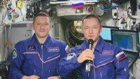Поздрав от Космоса за 8 март