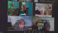 Популярни творци във видеоконференция за силата на японците да се справят в кризи