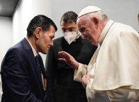 В Ирак папа Франциск се срещна с бащата на 3-годишния Алан