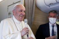 Приключи историческата визита на папа Франциск в Ирак