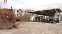 Избухна цистерна на стара бензиностанция във Враца