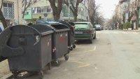 Зрителски сигнал: Контейнери за смет пречат на движението във Варна
