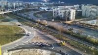 """Триъгълно """"кръгово"""" кръстовище предизвиква хаос във Враца"""