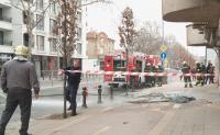 Пожар горя в апартамент в центъра на Пловдив