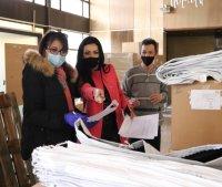 Над 120 000 маски и 2100 литра дезинфектанти за изборите в Област Русе