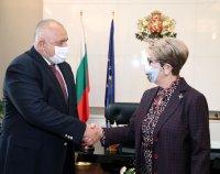 Борисов се срещна с посланик Митрофанова: Държим да има открит диалог с Русия