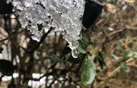 Валежи от дъжд и сняг, примесени с прах от Сахара