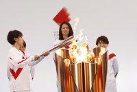 Запалиха Олимпийския огън за игрите в Токио (Снимки)