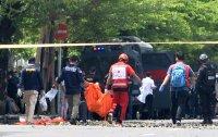 снимка 1 Експлозия пред католическа църква навръх Палмова неделя в Индонезия