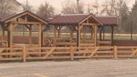Класни стаи на открито за ученици в Нови Искър