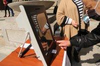 снимка 2 Как се гласува с машини - демонстрация на ЦИК пред НС (ВИДЕО)