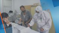 Как гласуваха в ковид отделението в Александровска болница