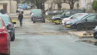 Ден след асфалтиране, улица във Варна отново е разкопана