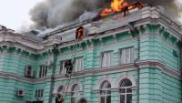 Извършиха сърдечна операция в горяща болница в Русия