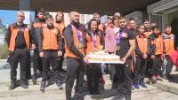Русе посрещна златните европейски медалисти по щанги