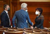 "снимка 8 Парламентът гласува и прие оставката на кабинета ""Борисов 3"""