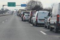 """снимка 5 Тир и цистерна са се ударили на """"Тракия"""", загинал е единият шофьор (ВИДЕО)"""