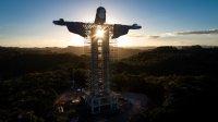 Нова статуя на Христос, по-висока от тази в Рио, издигат в Бразилия (Снимки)