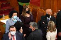 снимка 16 Първото заседание на новия парламент в СНИМКИ