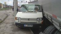 Верижна катастрофа между тир, автомобил и микробус в Русе