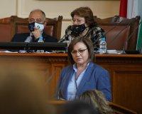 "снимка 11 Парламентът гласува и прие оставката на кабинета ""Борисов 3"""