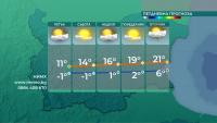 От утре започва затопляне, очаква ни слънчев уикенд