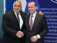 Манфред Вебер поздрави Борисов за победата на изборите