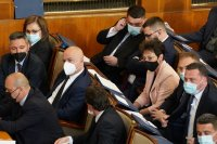 снимка 15 Първото заседание на новия парламент в СНИМКИ