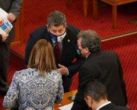 снимка 37 Първото заседание на новия парламент в СНИМКИ